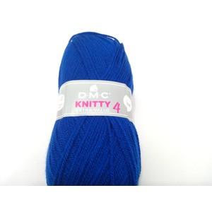 DMC Lana KNITTY4 100% Acrilico gr 100 colore 979 blu oltremare