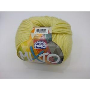 DMC Lana Mixto 50% Acrilico - 50% Lana gr 50 colore 091 (giallo)