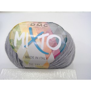 DMC Lana Mixto 50% Acrilico - 50% Lana gr 50 colore 121 (grigio chiaro)