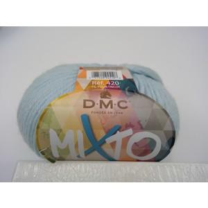 DMC Lana Mixto 50% Acrilico - 50% Lana gr 50 colore 711 (azzurro)