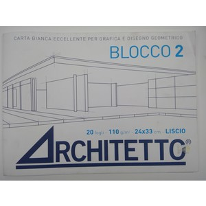 BLOCCO ARCHITETTO LISCIO