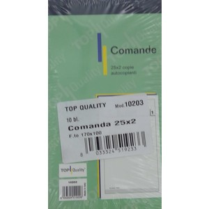 COMANDE 2C 17X10 RIC. Top Quality