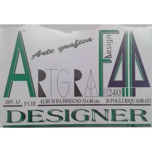 ALBUM BLOCCO ARTGRAF/4 33X48 RIQUADRATO