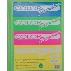 portalistino 30 buste Color Premium personalizzabile