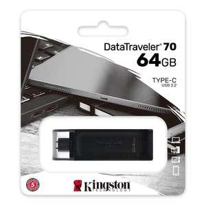 PENDRIVE MEMORIA USB TYPE-C 3.2 KINGSTON
