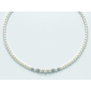 Collana Donna di perle Miluna PCL4377
