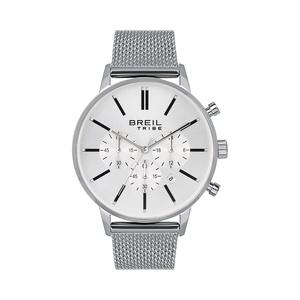 orologio cronografo uomo in acciaio maglia milano Breil Avery EW0508