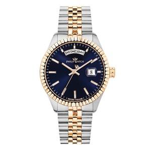 Orologio uomo Philip Watch Caribe acciaio e rosa gold R8253597057