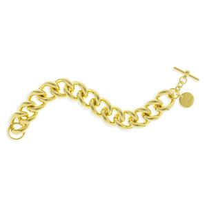 Bracciale Donna Unoaerre a catena in bronzo giallo 000EXH0175000