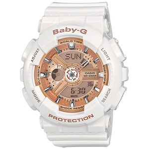 OROLOGIO CASIO G-SHOCK BIANCO BABY-G URBAN STYLE BA-110-7A1ER