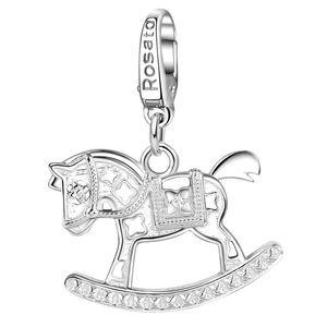 Cavalluccio a dondolo in argento 925/1000 ROSATO GIOIELLI RDE041