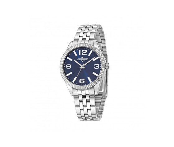 R3753240506 uomo luxury 3h 38mm d blue dial br acciaio acciaio medi