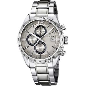orologio cronografo uomo in acciaio Festina Timeless F16759/2