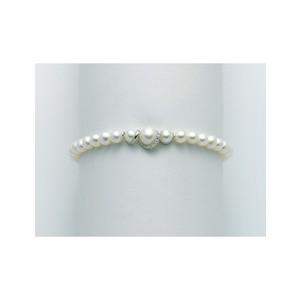 Bracciale Donna Miluna Portafortuna con perle e diamanti PBR3042V