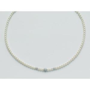 Collana Donna Miluna in oro bianco 18kt con Perle e sfere diamantate PCL1839