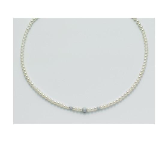 Pcl1839 filo di perle con diamanti