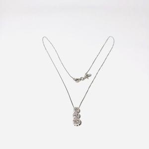 Collana con pendente donna in oro 18 kt e diamanti