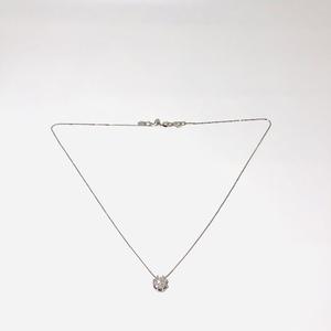 Collana con pendente con diamanti donna
