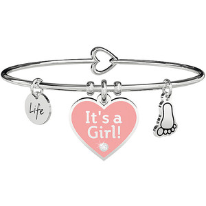 Bracciale donna rigido Kidult Special Moments IT'S A GIRL 731710