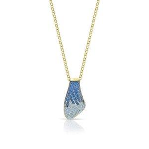 Collana Donna Sogni argento 925% dorato collezione Petalo CL029GM