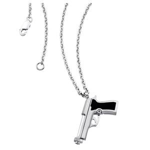 Collana Pistola Zancan in argento EXC320