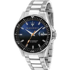 Orologio solo tempo uomo in acciaio Maserati Sfida R8853140001