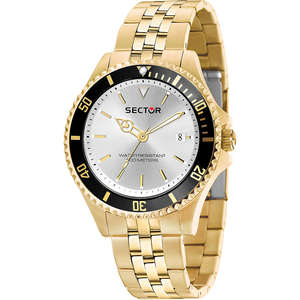 orologio uomo in acciaio dorato SECTOR 230 - R3253161014