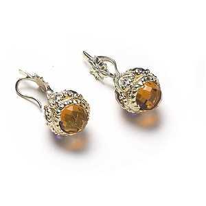 Orecchini donna con pietre colorate gioielli Sovrani Versailles  J4452