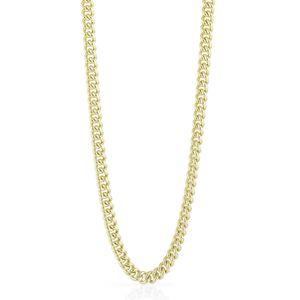 Collana lunga UNOAERRE grumetta in bronzo dorato