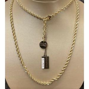 Collana laccio in bronzo dorato UNOAERRE unisex