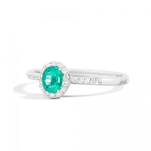Anello Iris Recarlo con  diamanti e pietre preziose