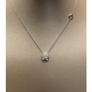 Collana donna con pendente di diamanti Recarlo