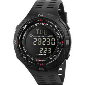 Orologio Digitale Uomo Sector Della Collezione Ex-29 cinturino in silicone