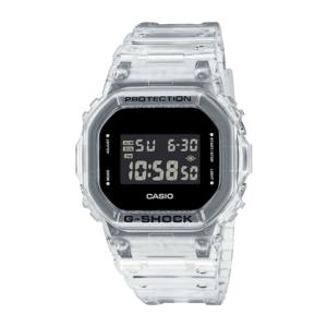 Orologio multifunzione uomo Casio G-Shock Skeleton DW-5600SKE-7ER