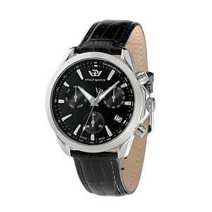 Orologio uomo con cinturino in pelle Philip Watch Blaze R8271995002