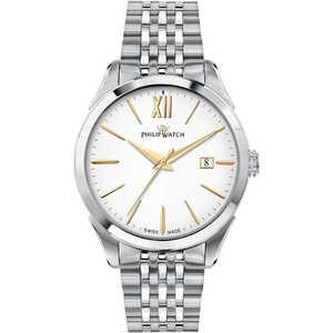 orologio solo tempo uomo in acciaio Philip Watch Roma  R8253217001