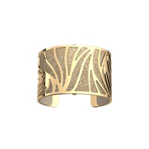 Bracciale Rigido dorato LES GEORGETTES MODELLO Perroquet 40 mm 70261620100000