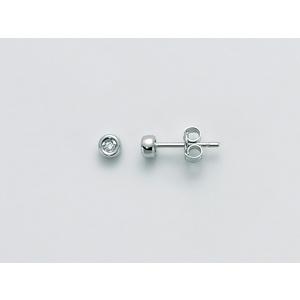 Orecchini Donna Miluna Oro Bianco 18kt e Diamanti ERD2268