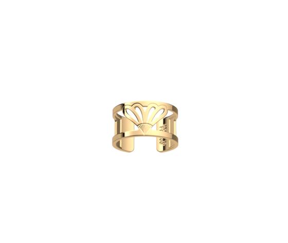 Anello dorato senza pietre