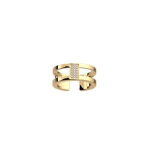 Anello donna Barrette Les Geogettes 8 mm Finitura oro giallo