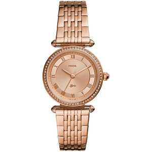 Orologio donna in acciaio rosa Fossil Lyric ES4711