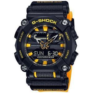 Orologio casio  G-Shock uomo nero e giallo GA-900A-1A9ER