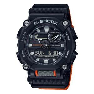 Orologio casio G-Shock nero e arancione GA-900C-1A4ER