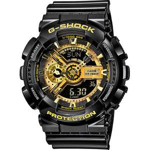 OROLOGIO CASIO G-SHOCK CON CINTURINO NERO LUCIDO GA-110GB-1AER