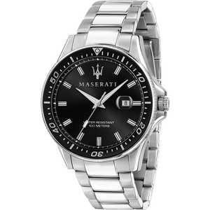 Orologio solo tempo da uomo in acciaio Maserati Sfida R8853140002