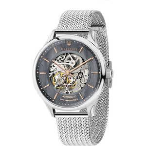 Orologio automatico in acciaio uomo Maserati Gentleman R8823136006