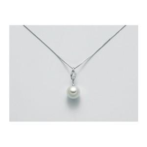 Collana con perla e Diamante Miluna -PCL5380