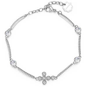 Bracciale Donna Brosway Chakra in acciaio con croce Croce bhkb027