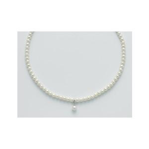 Collane con Perle originali e Diamanti MILUNA PCL5527