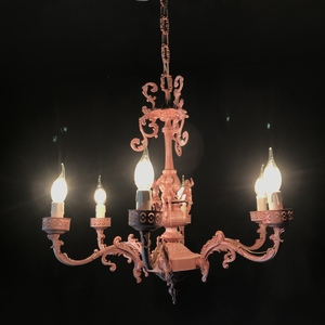 PINK ANGELS CHANDELIER